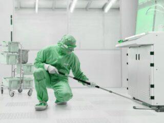 Уборка и дезинфекция чистых помещений